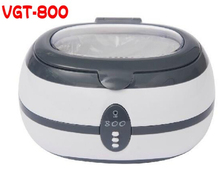 100% Brand New  VGT-800 Ultrasonic Cleaner, Cleaning Jewelry, Watch, Glasses Tattoo 600ml(China (Mainland))
