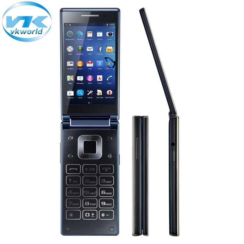 "Original Vkworld T2 Flip Smartphone Celular 4.02"" Android 5.1 MTK6580 1.3GHz Quad Core 1GB 8GB Cell Phone 13.0MP Camera Dual SIM(China (Mainland))"