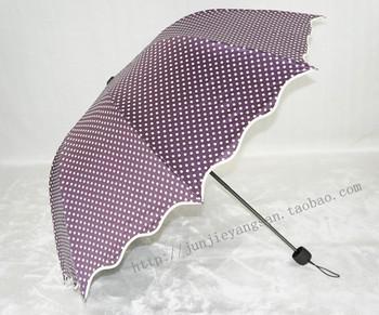 Junjie anti-uv umbrella princess umbrella super sun apollo