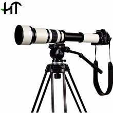 KELDA 650~1300mm F8.0 Super Telephoto Manual Zoom Lens For Canon & For Nikon DSLR Camera (China (Mainland))
