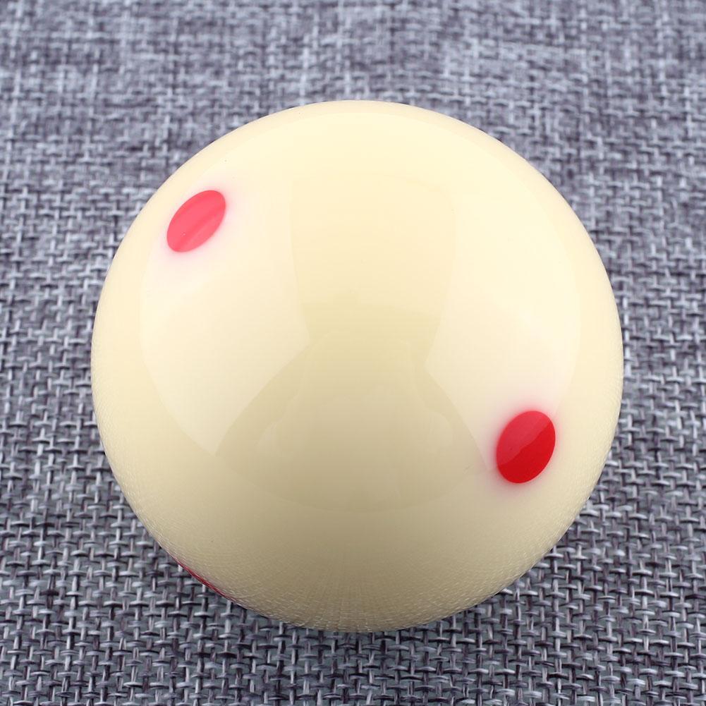 "57.2mm Red Dots Billiard Snooker Training Spot Cue Ball 1/4"" Professional(China (Mainland))"