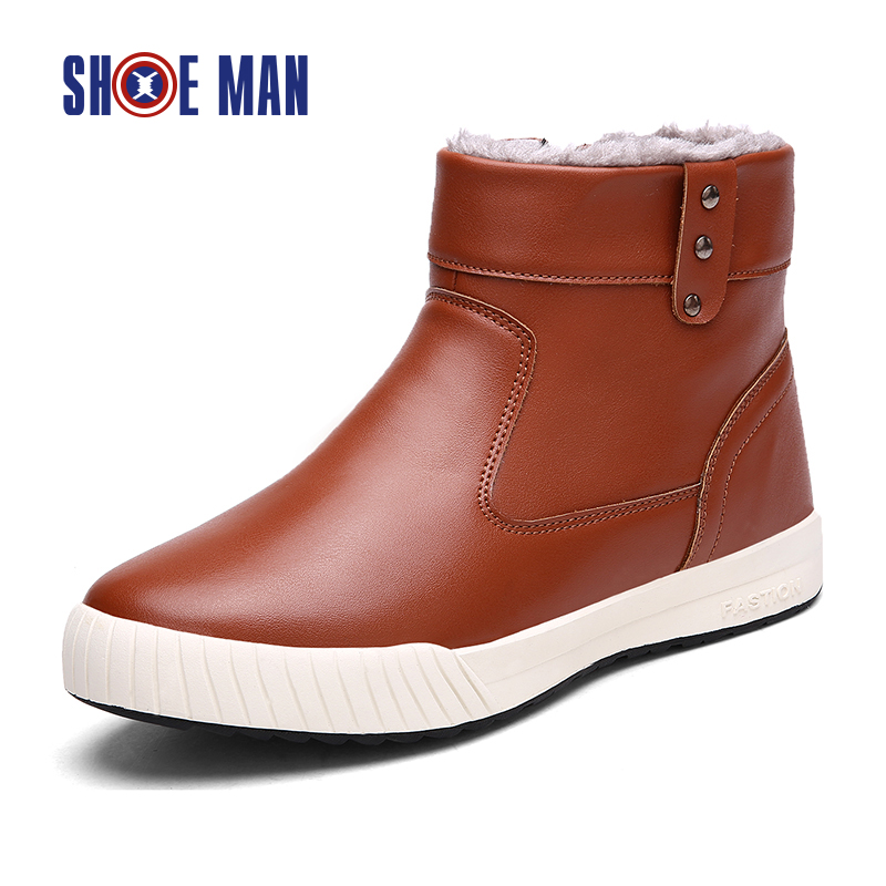 soft leather boots for snow boots winter style