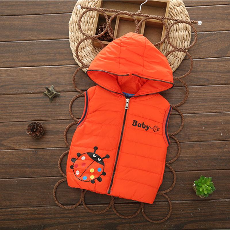 2105 new brand kids spring &amp; autumn warm pure color vesboys vests for girlszipper clothes wintevests 5 colors boys vests kids8<br><br>Aliexpress