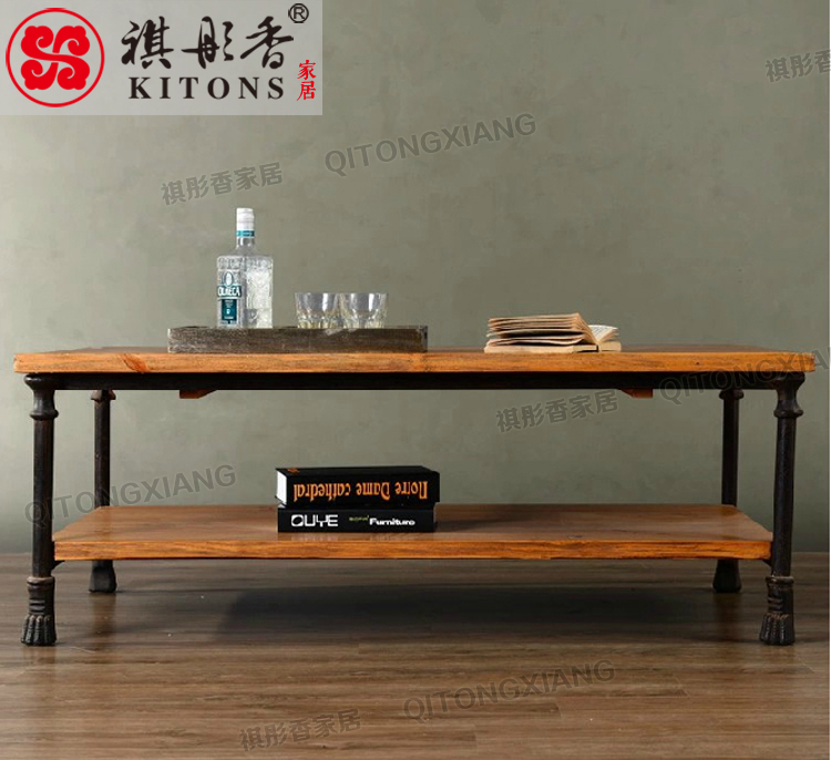 Kee tong xiang home american country wrought iron wood for Furniture of america assembly instructions