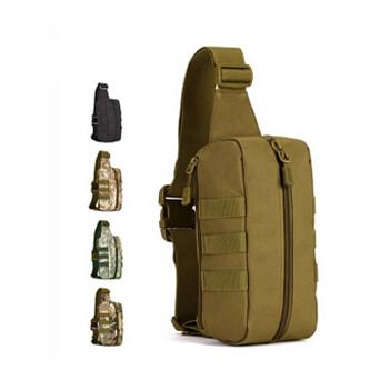 MOLLE Belt Waist Bag Bum Hip Belly Pack Bag Gym School Ripstop Woodland Trekking Surplus Waterproof Nylon Security Gear(China (Mainland))