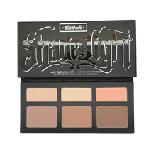 Brand Makeup Kat Von D Cosmetics A Shade & Light Palette Face Contour Bronzers Highlighters 6 Color Contouring  Make Up Set(China (Mainland))