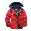 Winter Jackets Girls 2016 Winter New Unisex Children Cotton Tiger Embroidery Styly Coat Cartoon Character Jacket Cheap Baby Coat