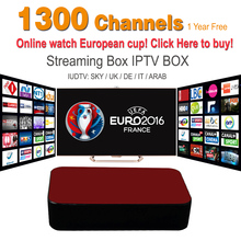 Streaming IPTV Box Mag 254 Mag 250 1Year 1300+ Sky Canal Channels European Championship IPTV Server Streaming Sever Media Player