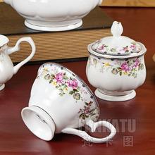 Red 15 fashion coffee set d Angleterre bone china coffee pot ceramic tea set