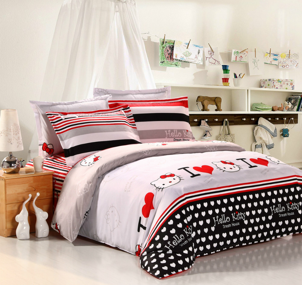 twin full queen cheap bedding sets 3 4pcs bedding set