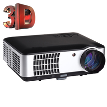 Buy Full HD 3D Projector support 1080P 3500 Lumens Big Screen Home Theater Cinema LED/LCD HDMI VGA AV TV VGA HD for $299.41 in AliExpress store