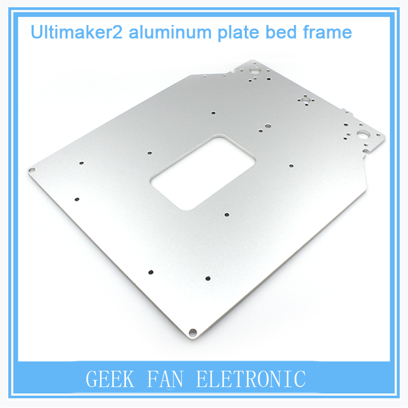Ultimaker 2 Upgrade section dedicated hot bed board stand Holder sandblasting UM2 Heatbed Bracket for 3D printer part 3D0246(China (Mainland))