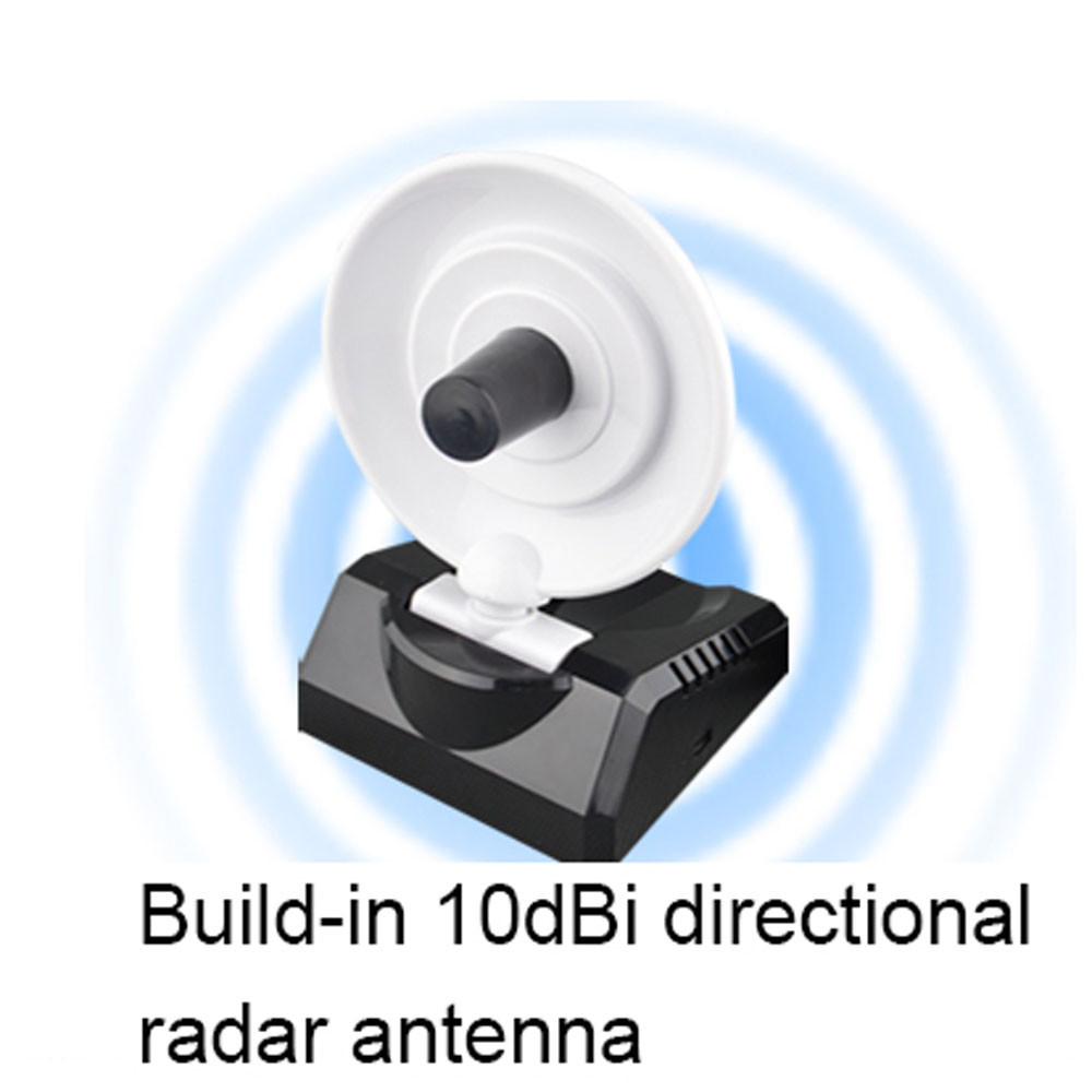 Beautiful Gift New USB High Power WiFi Wireless Adapter 150Mbps Radar High Gain w/Antenna Free Shipping Dec26