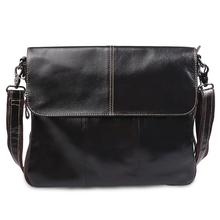 100% Genuine Leather Bags Men Bag Men Messenger Bags Men's Travel Bag Crossbody Shoulder Tablet PC Handbag YS1314(China (Mainland))