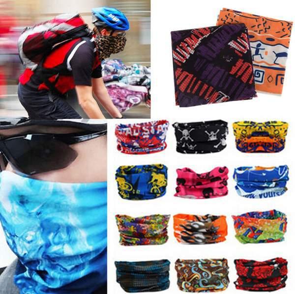 Fashion 1Pc Multifunction Flexible Sports Bike Riding Turban Bandana Magic Headwear Hair Bands Scarf Neck Wrist Wrap(China (Mainland))