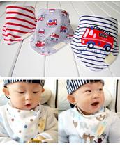 3pcs set Baby Bibs High Quality Cotton Bandana Bibs Para Bebe Infant Saliva Towel Babadores For
