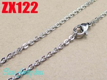 750mm (29.3Inch) length 2mm 316L stainless steel fashion cross chain Jewelry man male necklace chains ZX122
