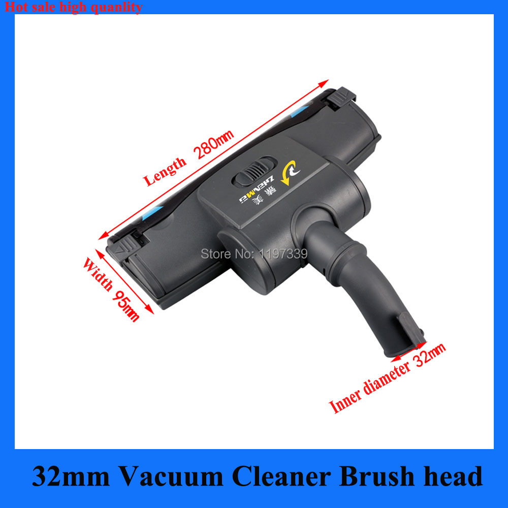 Hot 32mm Vacuum cleaner part accessories brush head replacement fit for Philips Midea karcher electrolux ecovacs(China (Mainland))