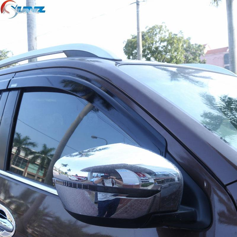 D23 chrome mirror cover for nissan navara 2016 accessories mirror cover parts for nissan frontier navara np300 2014 2015 2016+(China (Mainland))