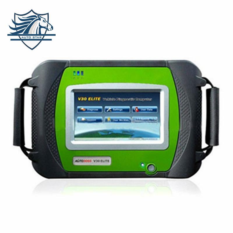 TOP diagnostic auto original SPX Autoboss Elite Super Scanner spx Autoboss V30 Elite on official website update free shipping(China (Mainland))