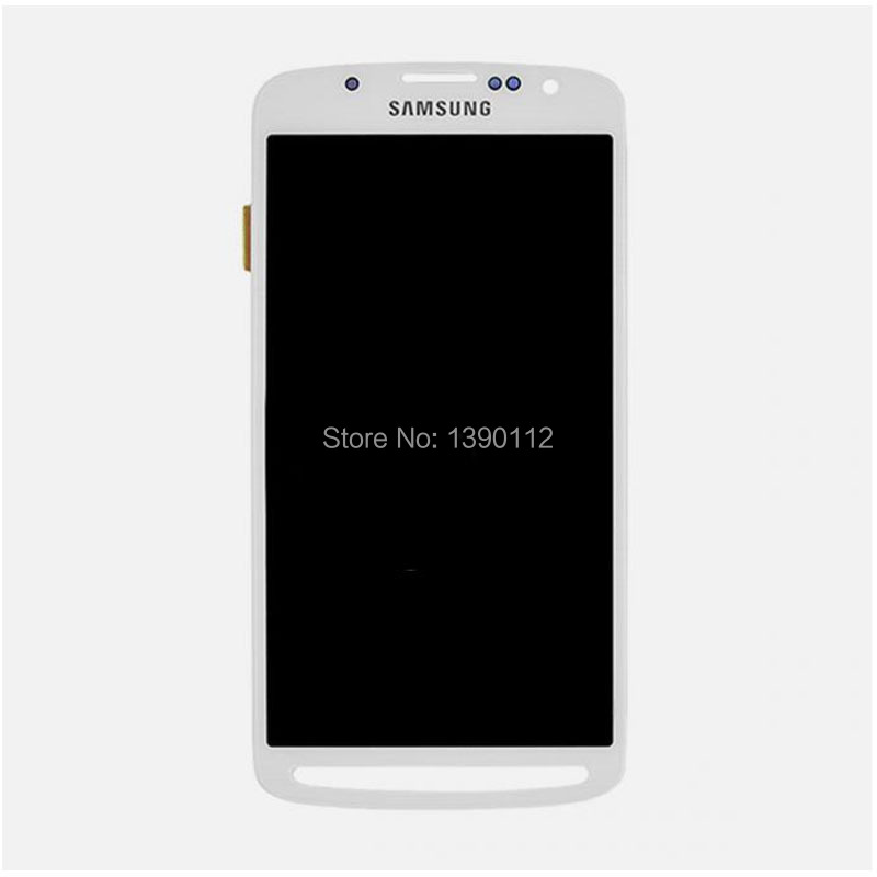 Samsung Galaxy S4 Active i9295 i537 LCD Screen + Digitizer Touch Glass White - luoxshu's store