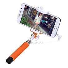 Buy Wired Selfie Stick Handheld Monopod Extendable Handheld Self-Pole Tripod Monopod Stick Smartphone iPhone Samsung Selfie for $4.17 in AliExpress store