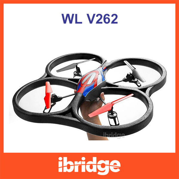 WLtoys V262 2.4G 4 Channels 6 Axis RC Quadcopter 51CM Biggest RC Helicopter Camera version VS Parrot AR.Drone(China (Mainland))