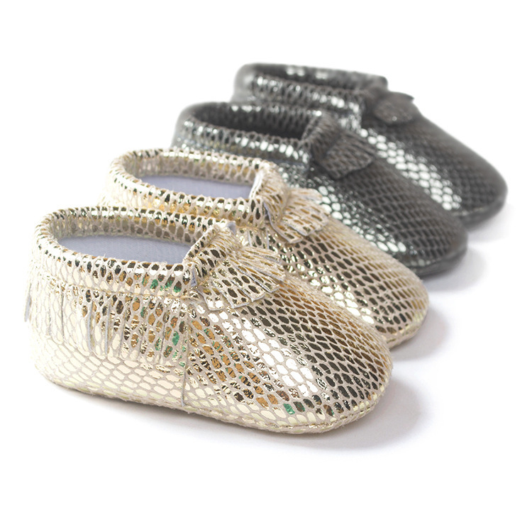 2015 Newborn Baby Moccasins Pu Leather Baby Shoes Boy Girls Infant Toddler Soft Moccs Gift Wholesale(China (Mainland))