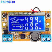 Buy High Conversion! DC-DC 3A STN LCD Step-Down Power Supply Module Adjustable 5-23V To 0-16.5V Current Voltage Step Down Buck for $3.08 in AliExpress store