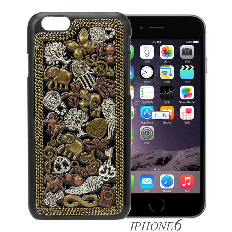 New 3D Animal Pattern Women Fashion Charms Case Phone 6 Back Cover Best Gift & Premium Buy One Get One HD Protective Film Free(China (Mainland))