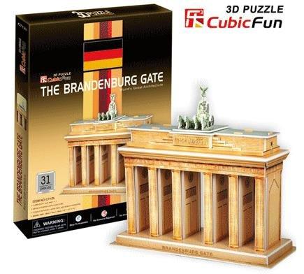 Paper model,Children's DIY toy,Paper craft,Birthday gift,3D educational Puzzle Model,Card model,German Brandenburg Gate(China (Mainland))