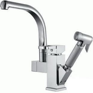 Free Shipping Chrome Color Solid Copper Bathroom Basin Bidet Out Spray Faucet For