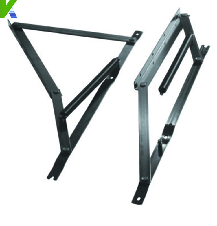 Lift Up Folding Metal Mechanism Hinges For Sofa Bed Storage KYA017(China (Mainland))