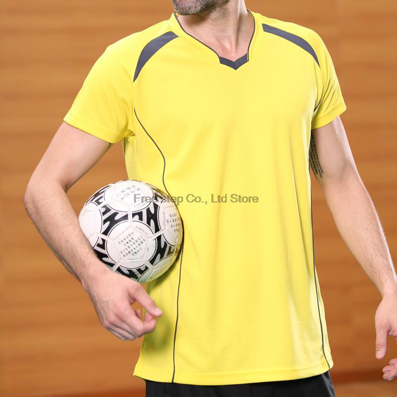 V neck 5 solid colors soccer jerseys survetement football 2017 throwback football jerseys football training suit(China (Mainland))