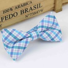 Children Fashion Formal Cotton Bow Tie Kid Classical Striped Bowties Colorful Butterfly Wedding Party Bowtie Pet Tuxedo Ties(China (Mainland))