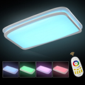 Hot Sale NEW Modern RGB Chandeliers RGB Cool White Warm White Multicolor Remote Dimmable Modern For
