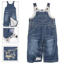 Children's spring autumn winter pants, high-end jeans, boys and girls pants, stock free shipping