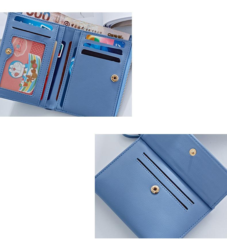 HTB1r.qWQFXXXXXOXXXXq6xXFXXXR - WEICHEN Hasp & Zipper Short Standard Wallet, Hot Fashion PU Leather Solid Coin Card Purse Wallets For Women Lady Clutch Carteras