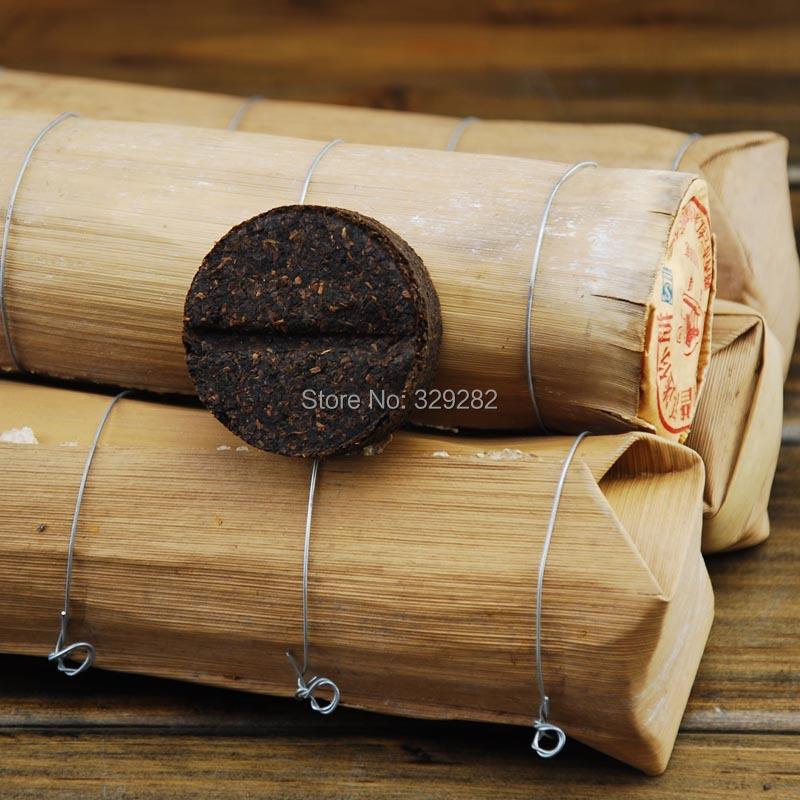 200g Pu er Tea cake shu puer tea cake ripe Puer Free Shipping