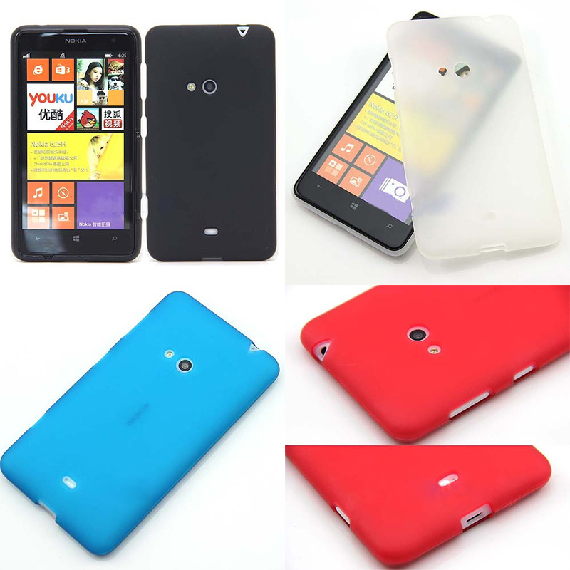 Free Shipping TPU Silicone Gel Case For Nokia Lumia 625 High Quality Skidproof Anti knock Cell Phone Protective Cover Bags(China (Mainland))