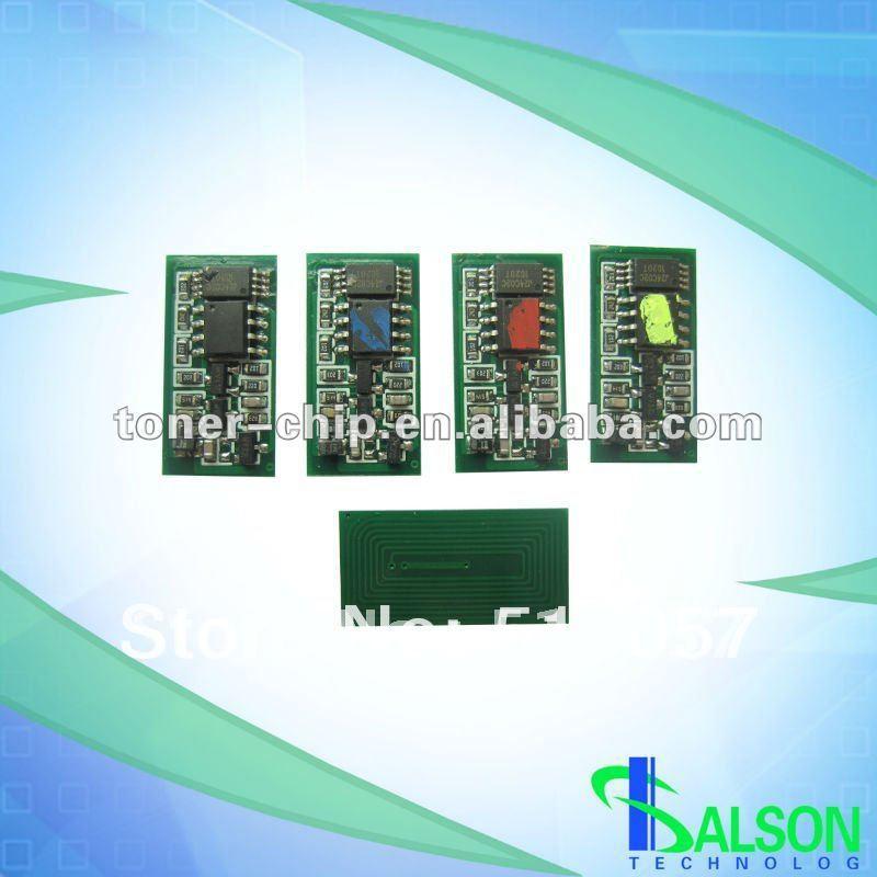 Color Toner chip Smart Laser Copier Toner cartridge chip Reset for Ricoh SPC820/821DN(China (Mainland))