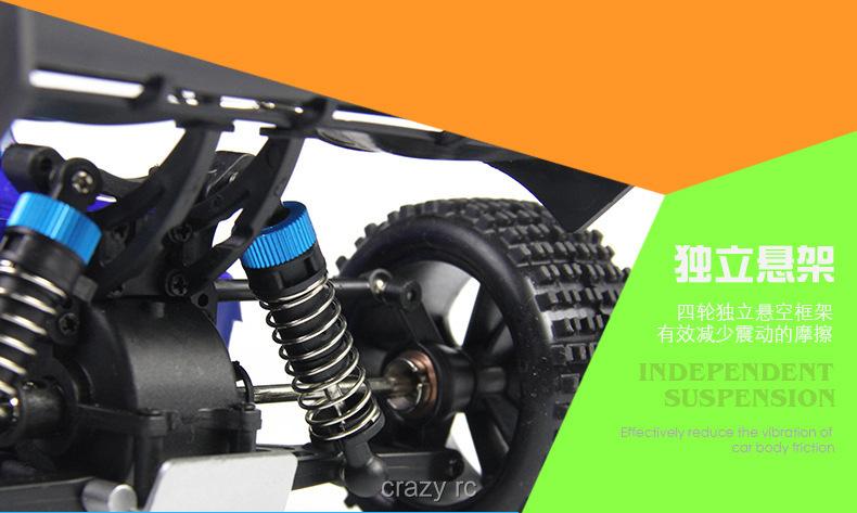 1:18 rc car Weili 2.4G high-speed four-wheel drive remote control car stunt buggy A959 toy car remote control toys