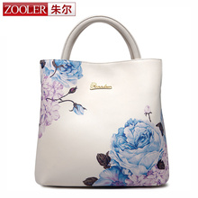 2016 New Charm fashion female printing bags handbags women famous brands cowhide women s genuine leather
