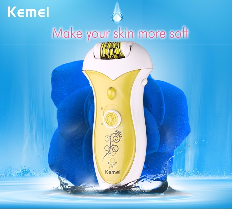 Buy Kemei 2016 New 100-240V Women Shave Wool Device Knife Electric Shaver Wool Epilator Shaving Lady's Shaver Female Care cheap