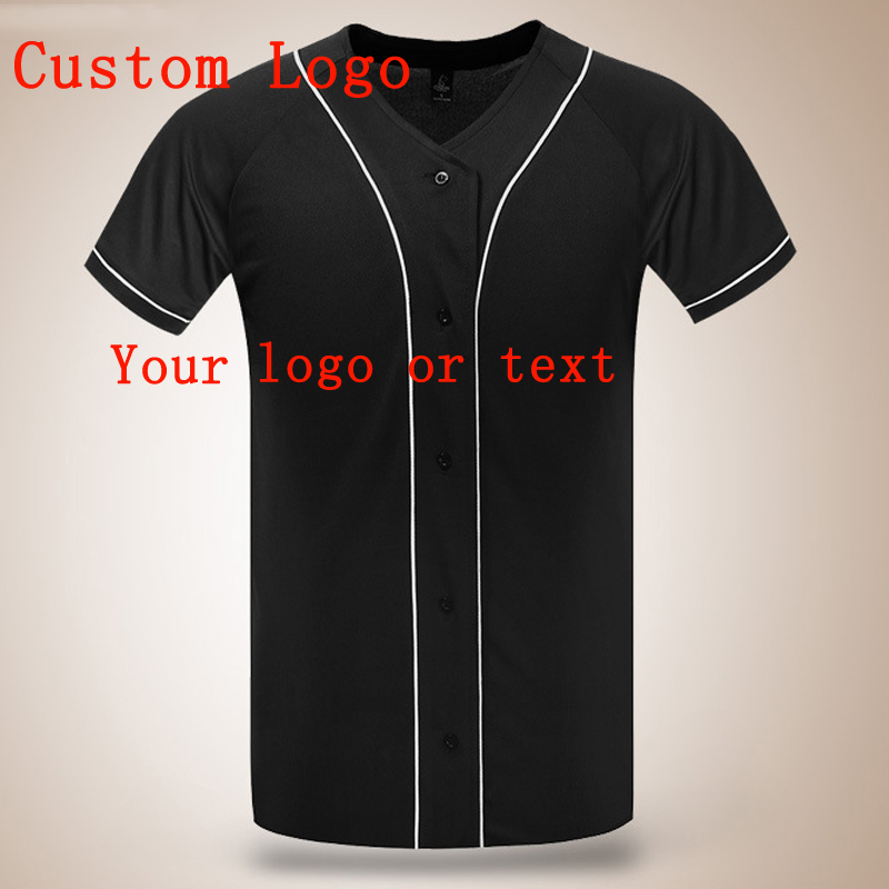 Blank baseball tee promotion shop for promotional blank for Blank baseball jersey t shirts