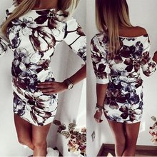 Buy Women Casual Half Sleeve Asymmetrical Neck Dress Sheath Bodycon Dresses Summer Vestidos for $4.82 in AliExpress store