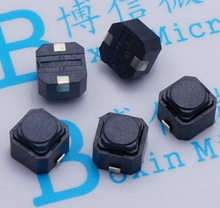 Wholesale Brand new touch micro switch push button switch 6*6*5MM Silicone Tact switch(China (Mainland))
