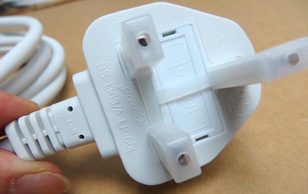5PCS Original UK Extension AC power Cord/Cable For Apple MacBook Pro Air IPAD Magsafe Adapter Charger(China (Mainland))