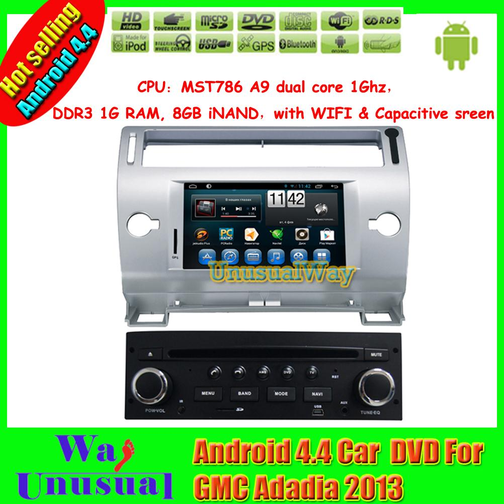 2015 Top Car Styling Android 4.4.4 Car GPS Navigation for Citroen C4 With Radio USB Free Map BT 7 inch 800*480 freeshipping(China (Mainland))