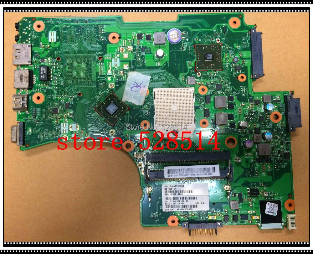 Здесь можно купить  original for TOSHIBA Satellite L650 L650D laptop motherboard  V000218060 6050A2333201-MB-A02 100% Test ok  Компьютер & сеть